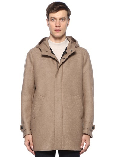 Harris Wharf London Parka Bej
